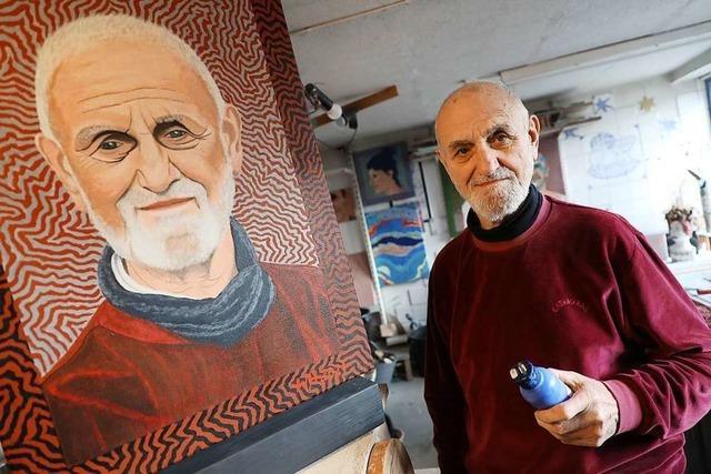 Der Ichenheimer Künstler Walter Henninger führt ein Leben voller Wendungen