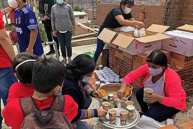 Perukreis hilft notleidenden Menschen