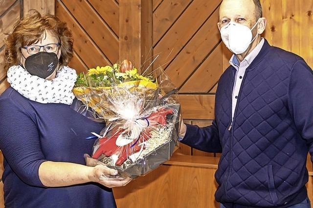 Die gute Seele der Gemeindeverwaltung im Ruhestand