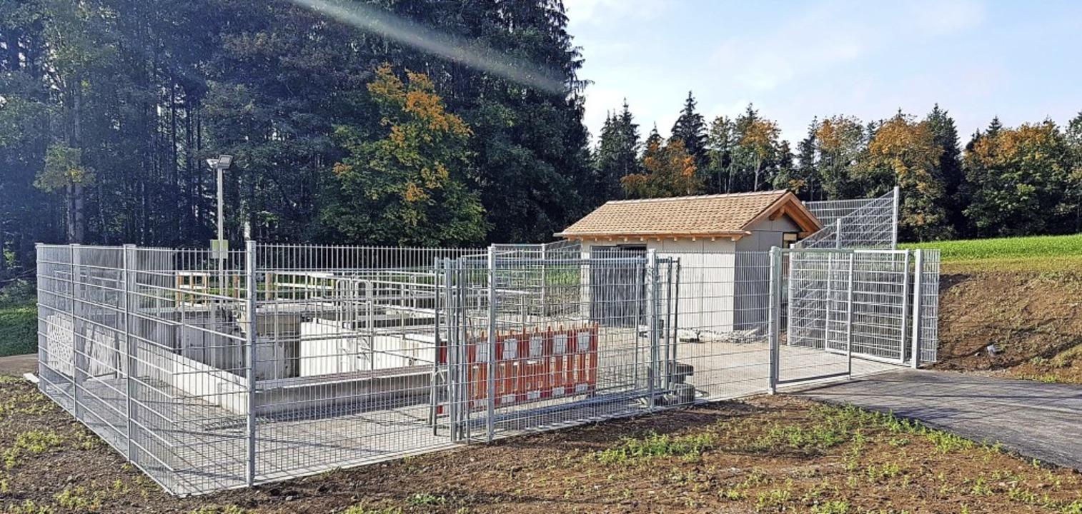 Das Regenüberlaufbauwerk  bei der Klär...s Abwassersammlers  Witznau/Gutenburg.  | Foto: Werner Steinhart