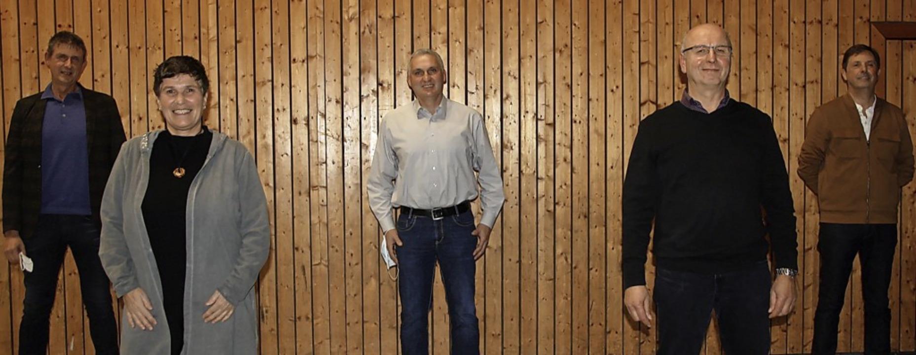 Der neue Vorstand des SV Endingen: Von...d  Michael Wunderlich (Schriftführer)   | Foto: Christiane Franz