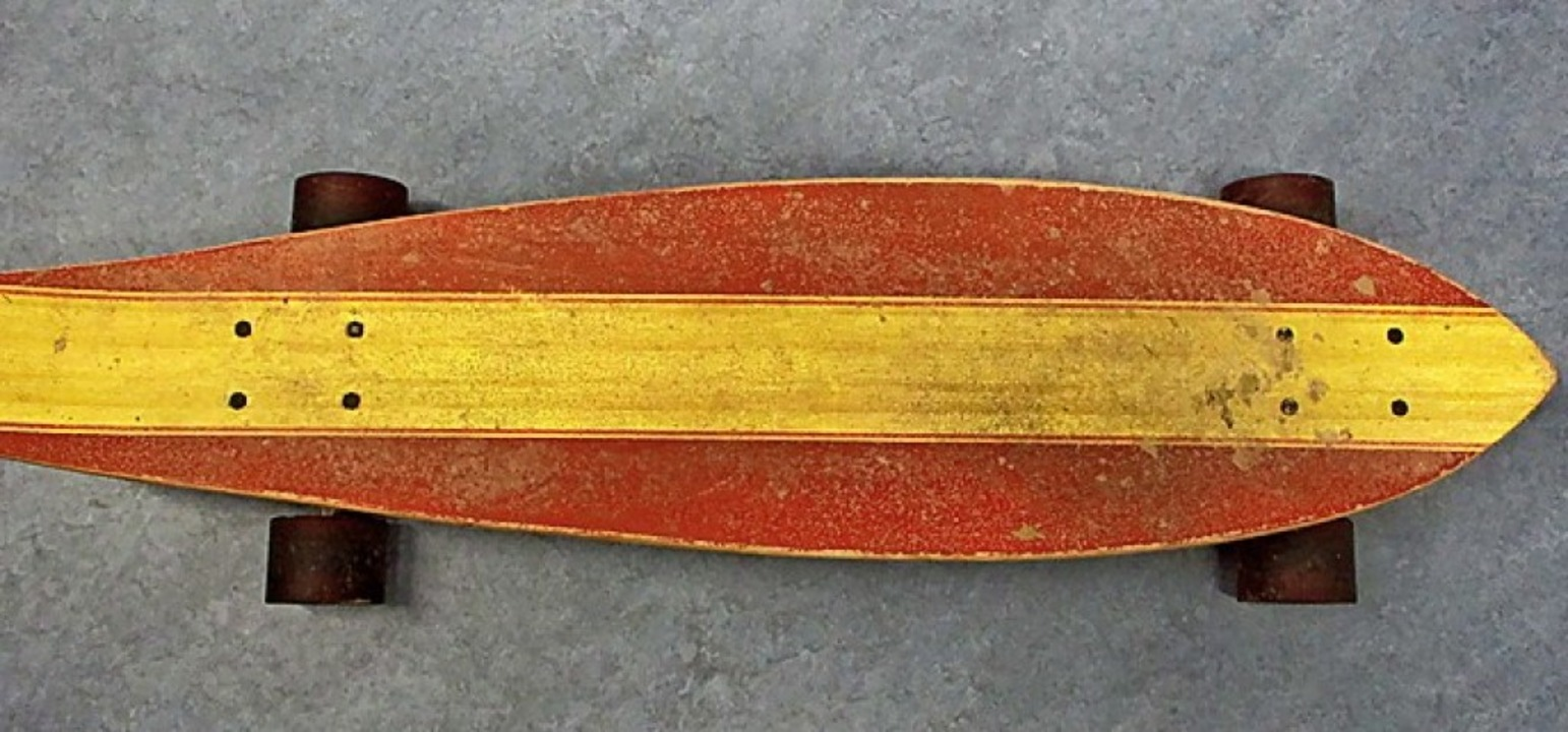 Wem gehört dieses Board?    Foto: Polizei Offenburg