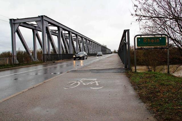 Radeln über den Rhein soll zwischen Neuenburg und Chalampé sicherer werden