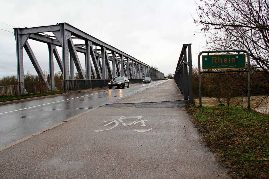 """""""Es ist ein grandioser Erfolg, d...einbrücke für Radfahrer und Fußgänger.    Foto: Alexander Huber"""