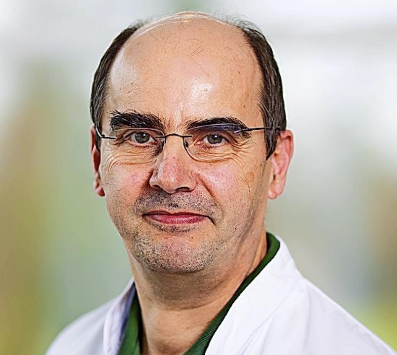 Martin Schuster    Foto: Helios Rosmann Klinik Breisach