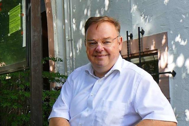 Teningens Bürgermeister: