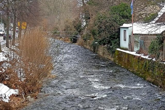 Besserer Hochwasserschutz in Staufen