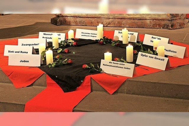 Gedenkgottesdienst für die Opfer des Naziregimes