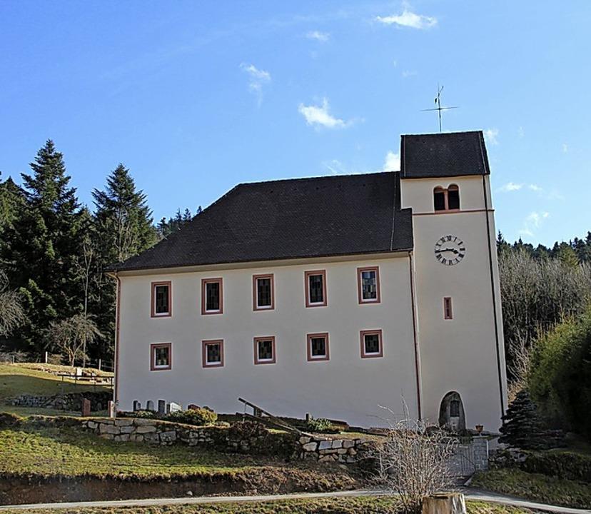 Die Michaelskirche in Kaltenbach    Foto: Rolf-Dieter Kanmacher