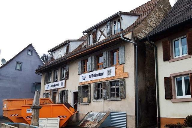 Historisches Gebäude sorgt in Wyhlen für Diskussionen