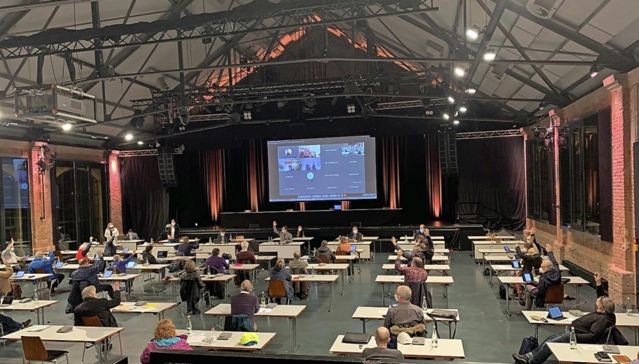Abstimmung am Montag im Offenburger Ge...ssen auf der sicheren Seite zu sein.      Foto: Helmut Seller