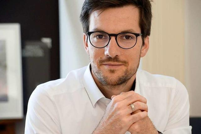 Freiburgs Oberbürgermeister Martin Horn verabschiedet sich sehr bald in die Elternzeit