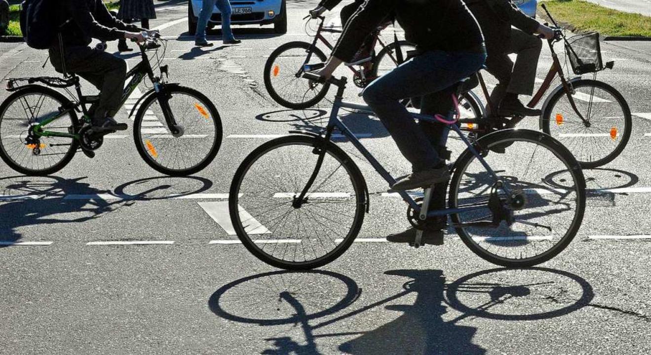 In der ADAC-Umfrage haben die Radler d...nd zwar nicht nur bei den Autofahrern.  | Foto: Michael Bamberger