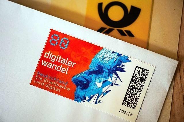 Briefmarken bekommen jetzt einen digitalen Code