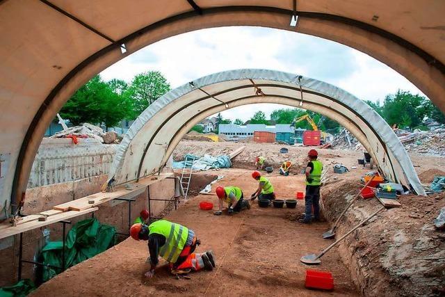 Archäologen graben bei Basel eine Siedlung aus der Spätbronzezeit aus