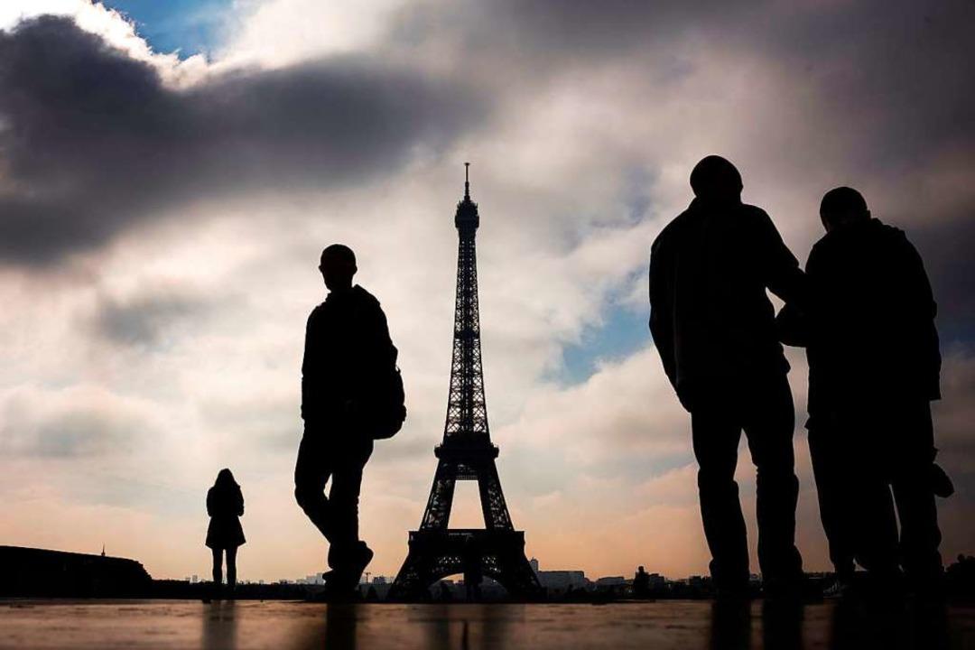 Der Eiffelturm ist das Wahrzeichen von...sse der sportlichen Wettkämpfe werden.    Foto: LIONEL BONAVENTURE