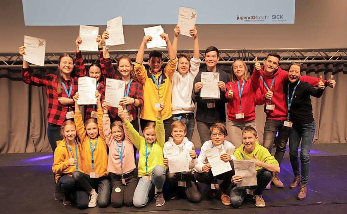 Die langjährige Jugend forscht-Betreue...beim Regionalwettbewerb Südbaden 2020.    Foto: Renate Spanke