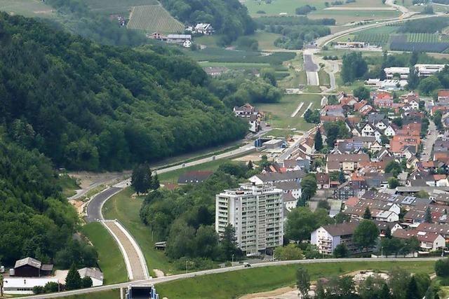 B 28-Tunnel bei Oberkirch ist wieder frei befahrbar