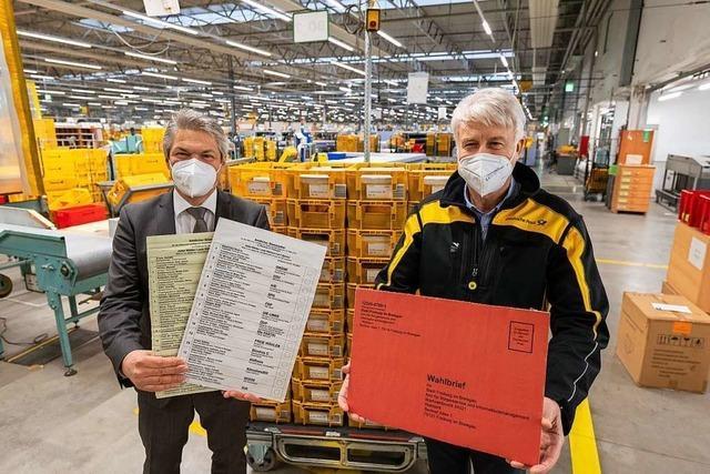 Freiburger Wahlamt rechnet mit Rekord bei Briefwahl