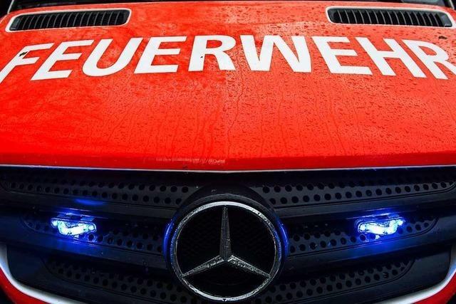 In der Gaststätte Schloß Bürgeln in Schliengen hat die Feuerwehr einen Schwelbrand gelöscht