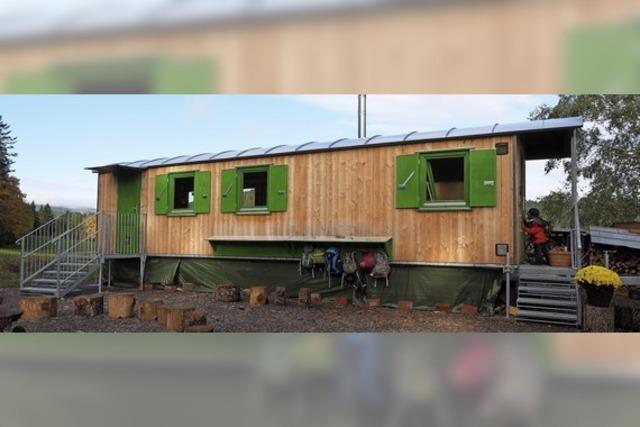 Bauwagen-Projekt für die Tal-Jugend