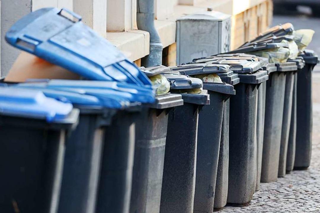 Jede Menge Müll landete 2020 im Landkr...anchmal auch als Unrat auf der Straße.  | Foto: Jan Woitas