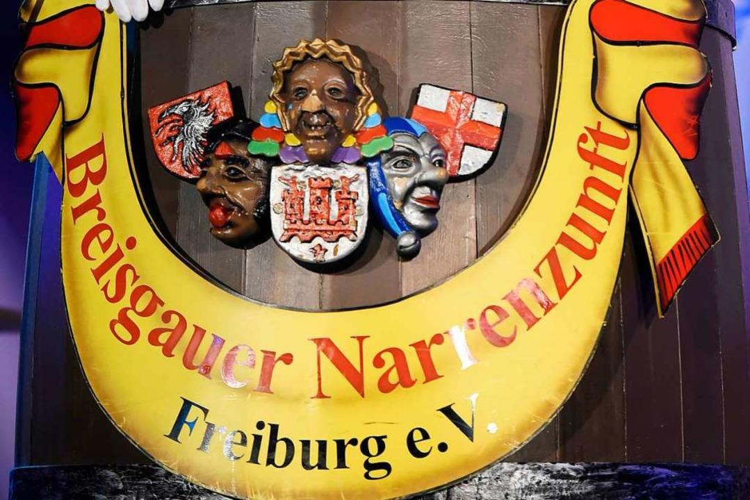 Im Logo der BNZ sind die Masken von Fa...ermer Lalli und Blaue Narre enthalten.  | Foto: Thomas Kunz