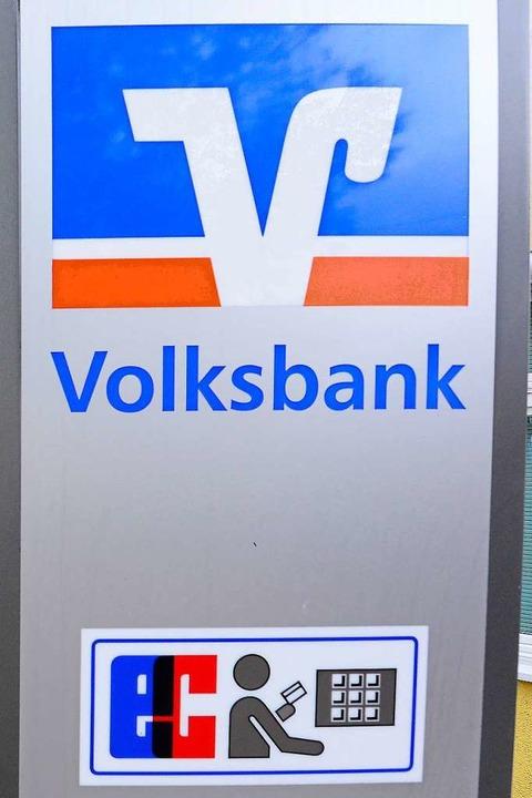 Das Logo der Volksbanken   | Foto: Ingo Schneider