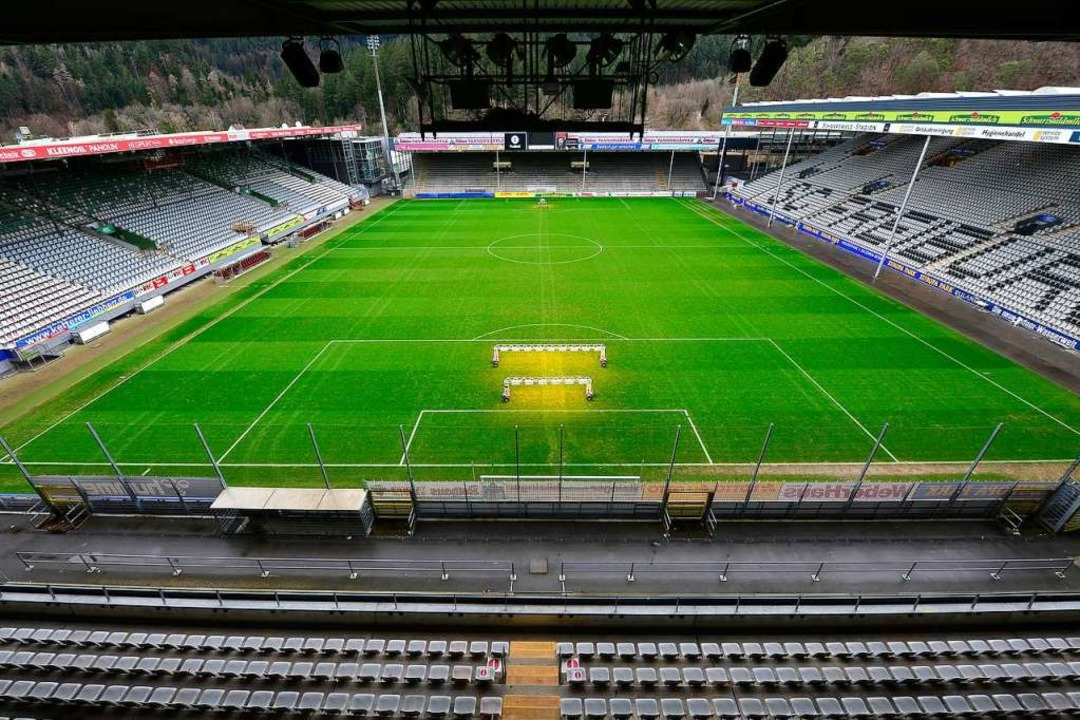 Der SC wird auch nach dem Umzug das Sc...on noch als Ausweichspielort brauchen.  | Foto: Ingo Schneider