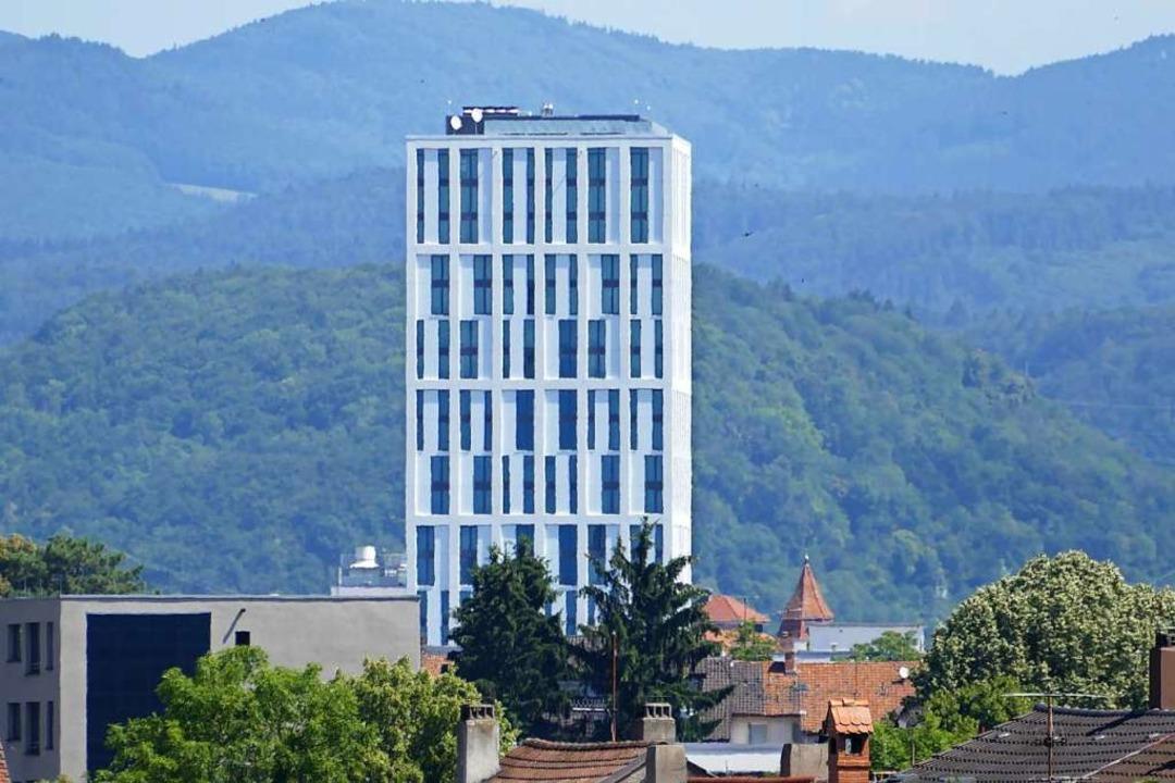 Das Hotel in Lörrach  | Foto: Peter Gerigk