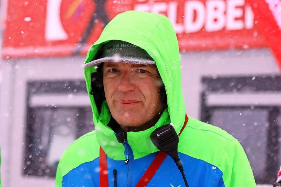 Thorsten Rudolph, Geschäftsführer der ...eim FIS Ski Cross Weltcup am Feldberg.    Foto: Joachim Hahne