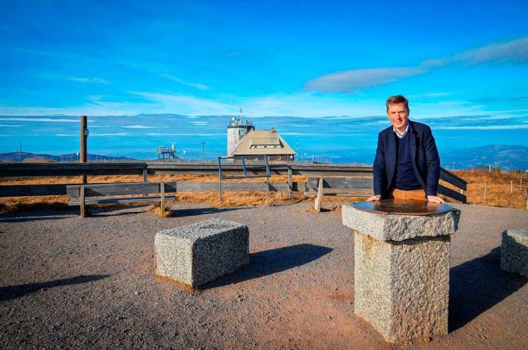 Bürgermeister Johannes Albrecht hier im Herbst 2020    Foto: Kathrin Blum