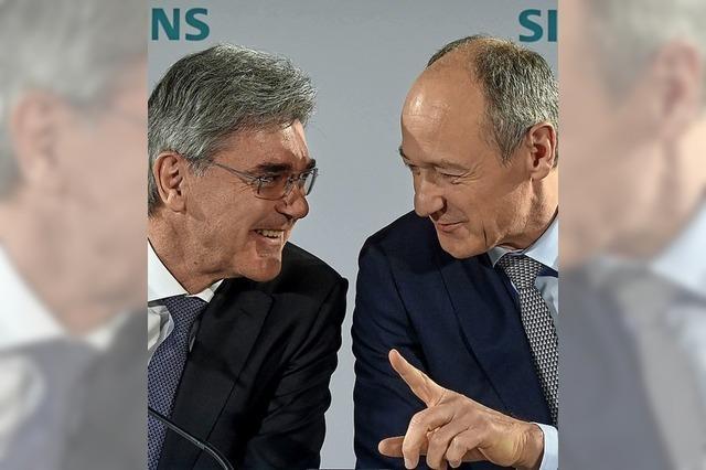 Stabwechsel bei Siemens