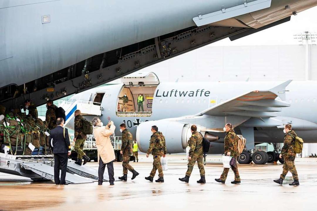 Drei Wochen sollen die Deutschen im Hospital da Luz mitanpacken.    Foto: Moritz Frankenberg (dpa)
