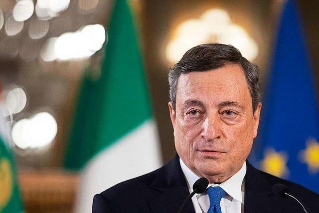 Mario Draghi ist der Richtige