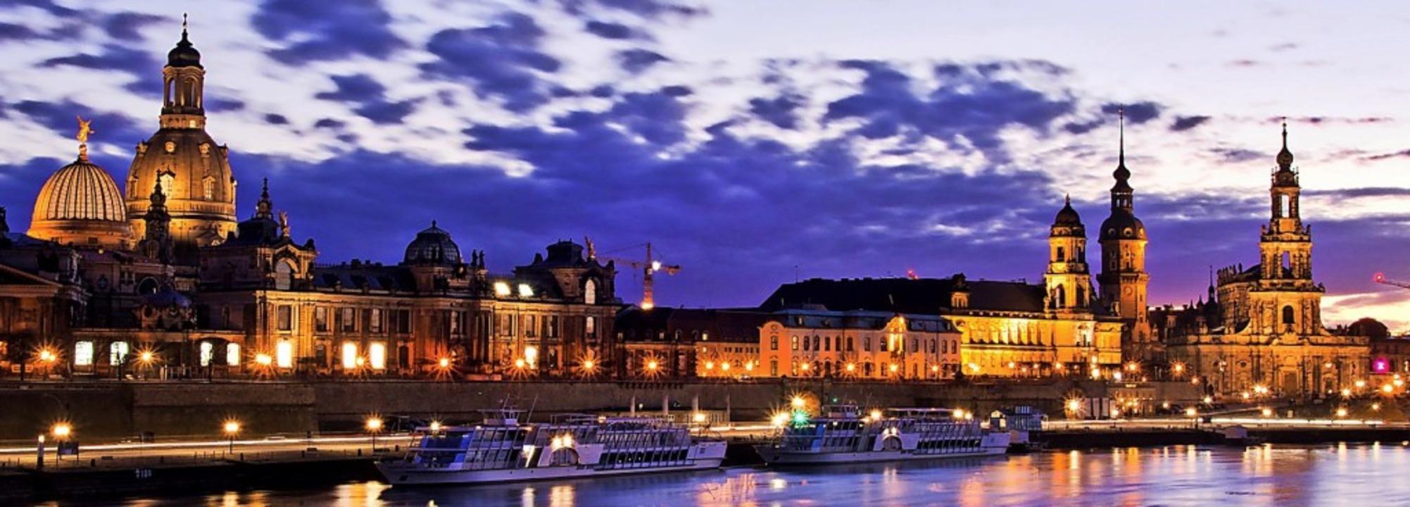 Dresdens weltberühmtes Barockensemble an der Elbe    Foto: Sebastian127 (pixabay.com)