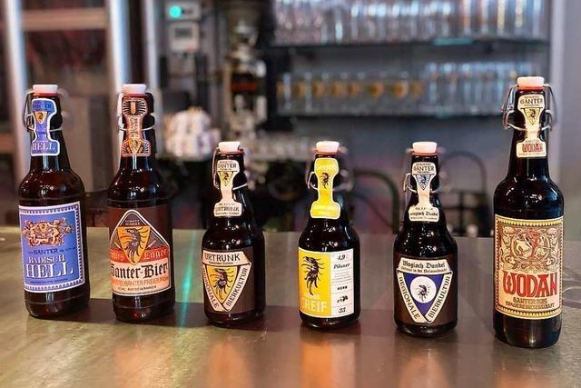 Verkosten Sie Spezialitäten der Brauerei Ganter per Livestream!