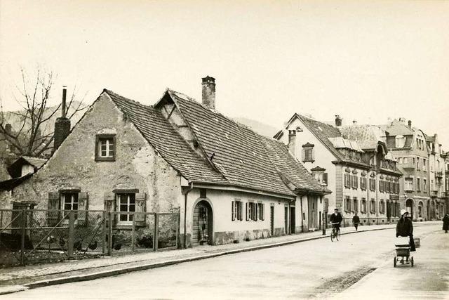 Ein fast 90 Jahre altes Foto zeigt Freiburgs Wiehre mit Dorfcharakter