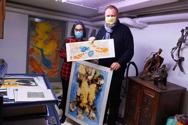 Mit dem Künstler-Tandem der Stadt Lahr soll Kunstschaffenden geholfen werden