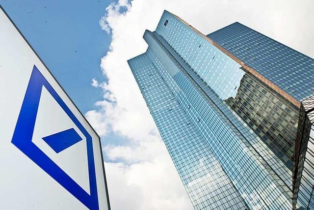 Deutsche Bank schließt Corona-Jahr 2020 mit Überschuss ab
