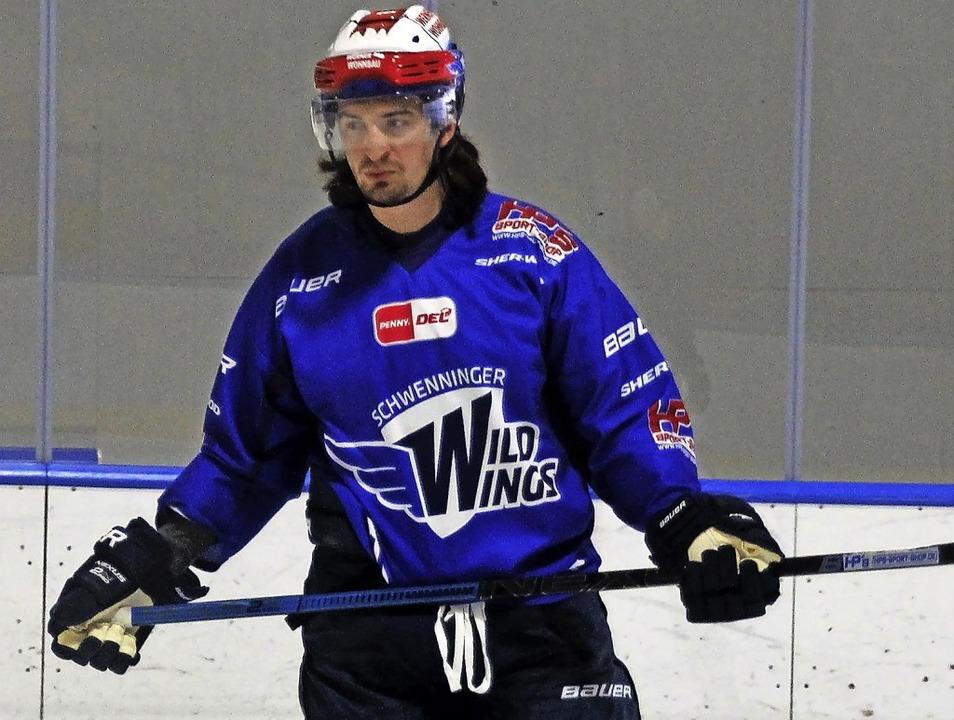 … Daniel Weiß spielen gemeinsam für die Wild Wings.   | Foto: Wittmann