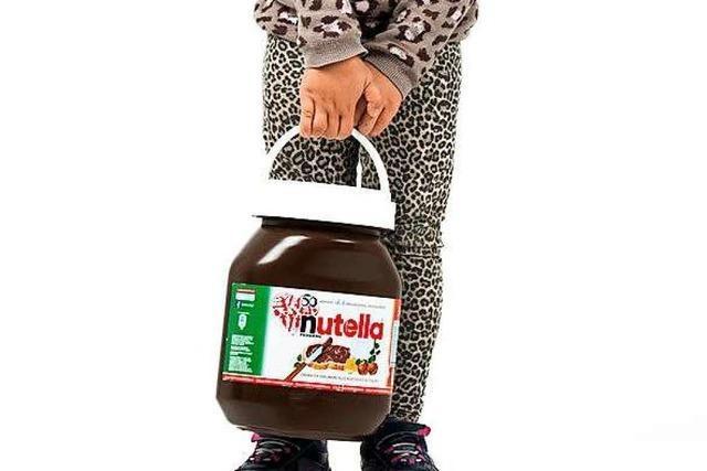 5 Kilo Nutella in einem Glas