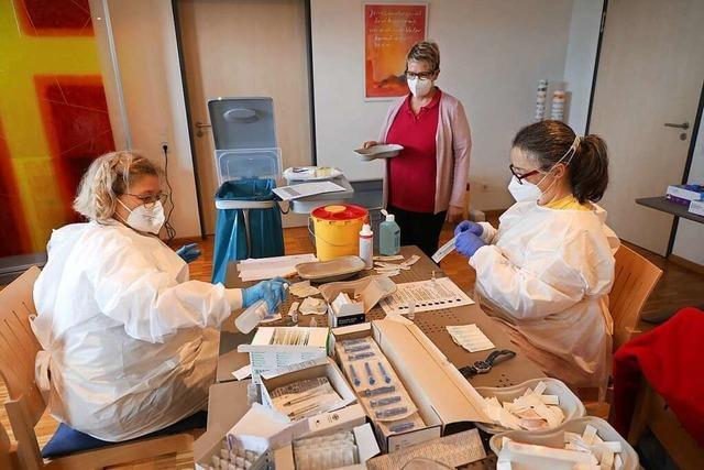 Erleichterung im Seniorenzentrum Neuried: Fast alle Bewohner sind geimpft