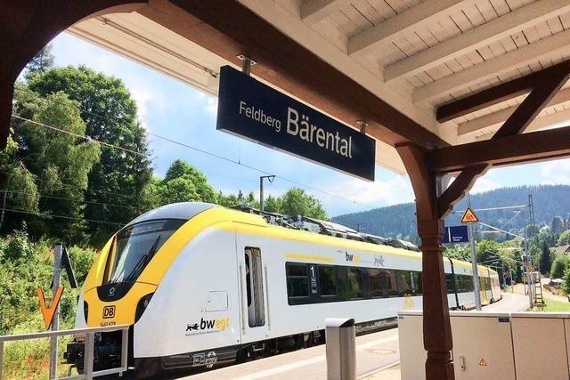 Geröll auf Gleis: Dreiseenbahn fährt vermutlich am frühen Abend wieder