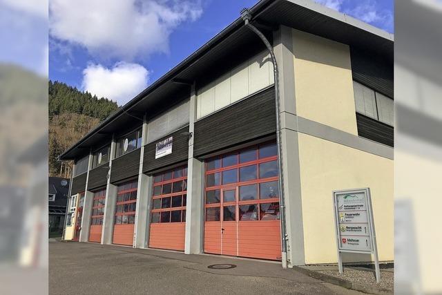 Strom von Schule und Feuerwehr
