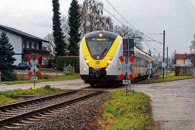 Streckensperrungen und Busse statt Züge ab 22. Februar am Kaiserstuhl