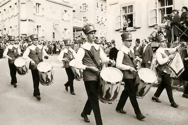Die Stadtmusik hatte an der Gründung der Fasnacht in Zell großen Anteil