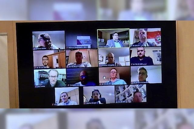 Sitzungen in Videokonferenz