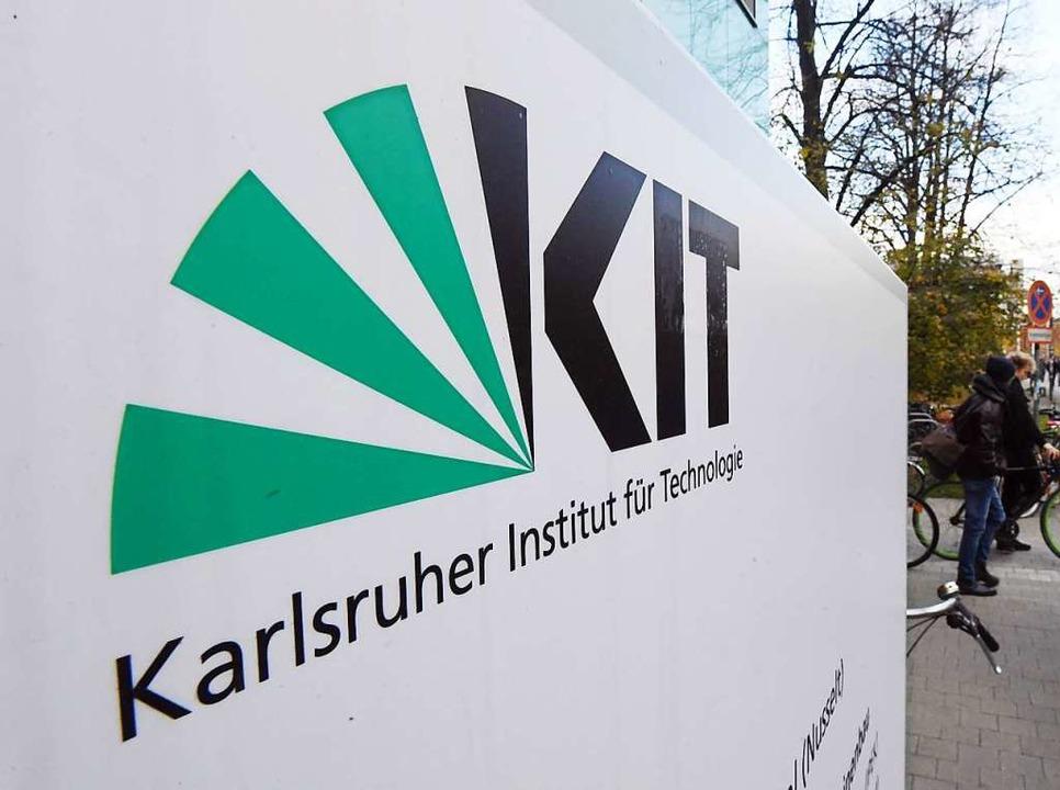 Das Logo des KIT   | Foto: Uli Deck (dpa)