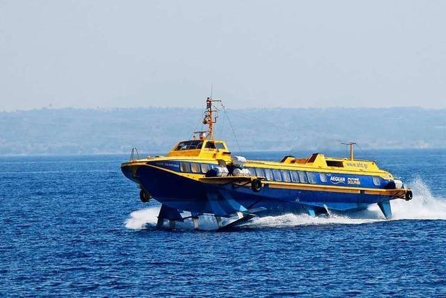 Die Tage der Tragflügelfähren zu den griechischen Inseln sind gezählt